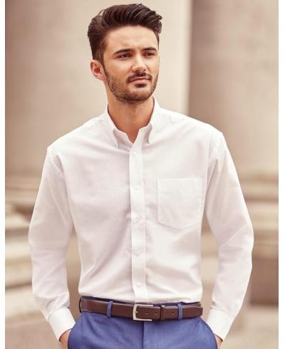 11c8bf8f94e Pánská Košile Oxford s Dlouhým Rukávem - Reklamní textil a zakázková ...